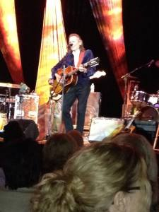 We saw Gordon Lightfoot in concert early last spring. Photo by Sherry Sturgeon.